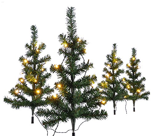 Geschmückter Künstlicher Weihnachtsbaum Mit Lichterkette.ᐅ Künstlicher Weihnachtsbaum Außen Das Beste Für Den Garten 2019