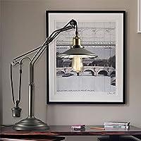 retrò tavolo di sollevamento Paese American luci lampada salone lampade