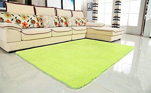 GMM® Maschine A Haus-Teppiche waschbar addensare Lamm WC Teppich Schlafzimmer Nachttisch Wohnzimmer Tisch Sofa rechteckig Mauspad Teppich 120*160 (Schwarz Und Grau-schnitt-sofa)