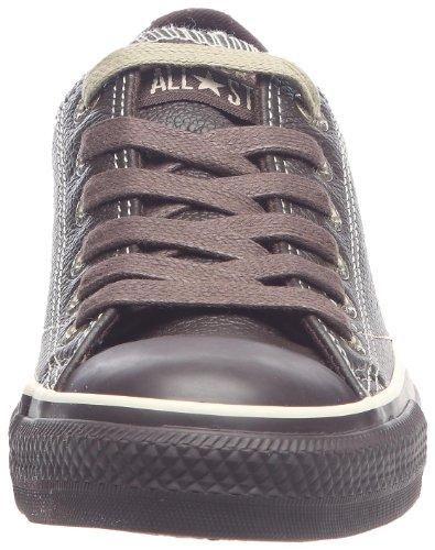 Converse Chuck Taylor All Star All European Leather Ox, Baskets mode mixte adulte Marron/espresso