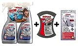 Limpiador de llantas Plus + multi esponja + juego de gamuzas de cera Sonax Xtreme 2x 750ml