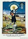 Vintage Bières, vins et spiritueux Absinthe, avis de Prohibition, Suisse, 1910, Art 250g/m², carton brillant A3Poster Reproduction