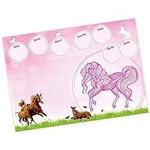 A2 Schreibtischunterlage Pferde *ideal als Geschenk*