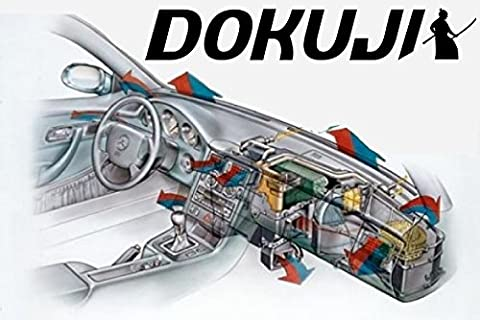 Dokuji Air Samurai. – Suitable for Jeep Grand Cherokee Iii Vehicle Air Conditioning. Effective Way to Clean, Disinfect and Refresh Scent: Fresh Intensive or New Car7
