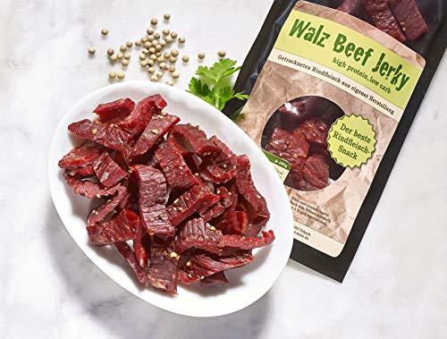 Walz Beef Jerky Gemischt 9 mal 100g eigene Herstellung in Deutschland -
