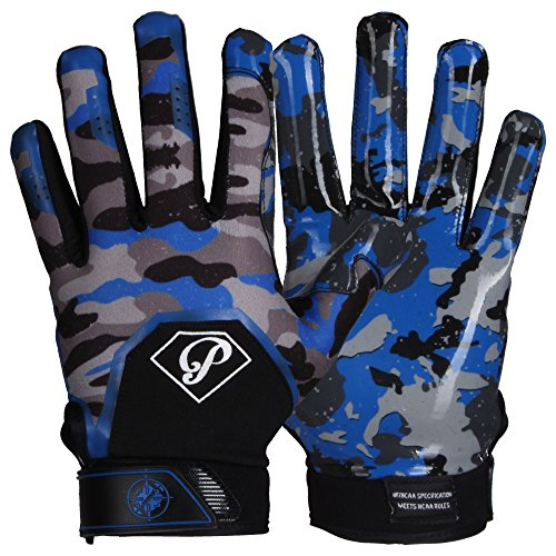 Prostyle Tactical American Football Receiver Gloves royal M