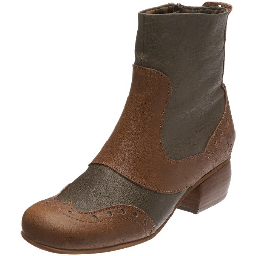 fly london women's jove ankle boot brown size: 42 eu / 11 b(m) us