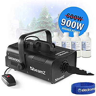 Electromarket Christmas Snow Maker Storm Winter Blizzard Effect Machine 900w *20L Fluid*