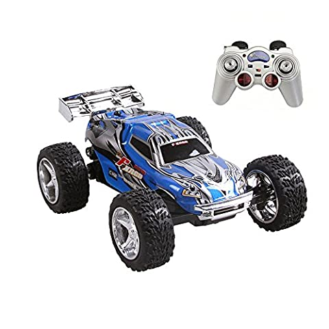 Rabing RC Car 2WD 1:32 Scale Remote Control Electric Racing Car 30KM/H High Speed Vehicle with Rechargeable Battery