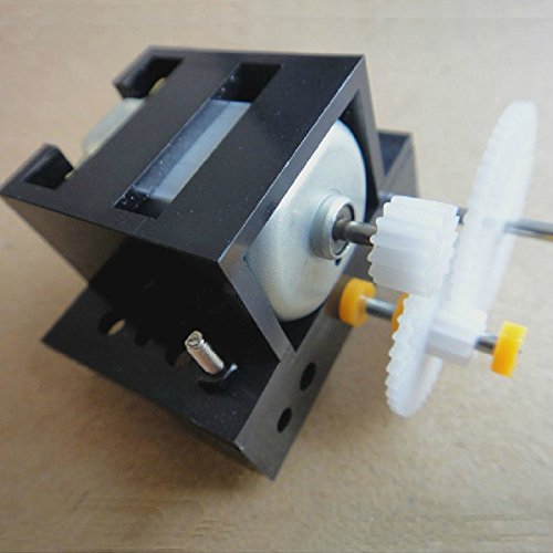 LaDicha Reduktionsgetriebe Box C1 DIY Technology Gear Motor Toys Modle