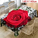 MOIKA Floral Imprimé Nappe pour Table rectangulaire carrée/Nappes Anti Taches en...