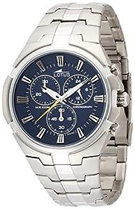 Lotus 10121/2 - Reloj de pulsera Hombre, Acero inoxidable, color Plata de Lotus