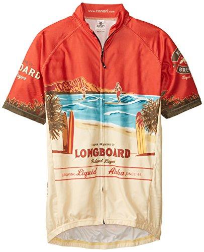 Canari Herren Kona Brauen Longboard Jersey XXL Mehrfarbig