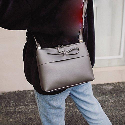 Longra Pure sacchetto di colore Shell Grigio scuro
