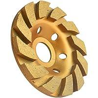 Disco Diamante de Lijar 100mm x 22.2mm 12 Segs para Amoladora de ángulo para Hormigón Concreto Piedra Ladrillo Céramica
