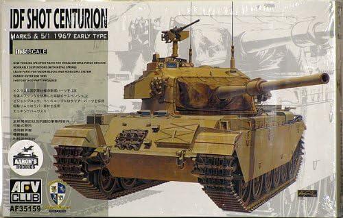 AFV Club 1:35 - IDF IDF IDF Centurion Mk.5/1 1967 (Six Day War) (AFV35159) | De Haute Qualité  c10be4