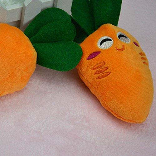 Haustier Spielzeug Karotte Plüsch gefüllte Baumwolle… | 00889577589626