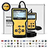 POVO OBD2 Code Reader Handheld Universal OBDII Scanner Car Diagnostic Tool Automotive Check Error Analyzer