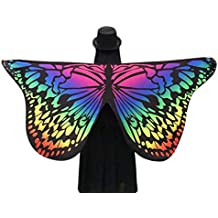 Culater Mariposa Tela Suave Hadas áNgel Ninfa Disfraz Fiesta Comedia