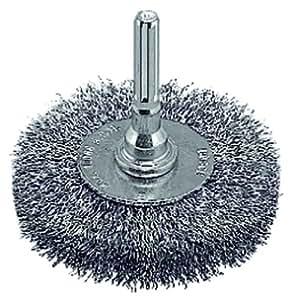 Bosch 2608622637 Brosse métallique à touret pour le ponçage 100 mm Grain 80