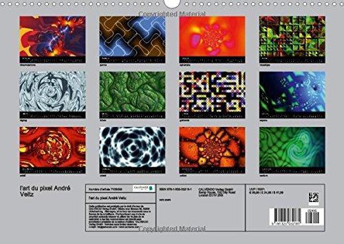 L'Art Du Pixel: Pixol'art: La Maniere D'utiliser Artistiquement Les Pixels (Calvendo Art)