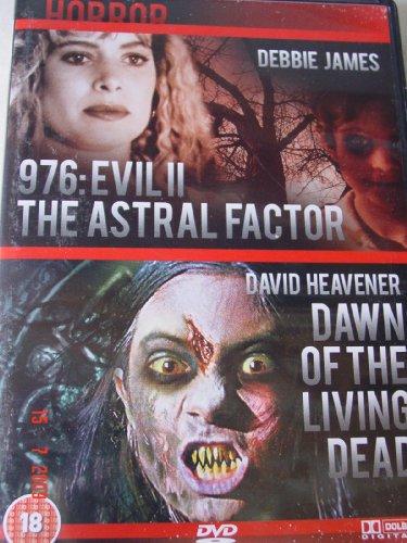 Bild von 976 EVIL II THE ASTRAL FACTOR / DAWN OF THE LIVING DEAD DOUBLE BILL