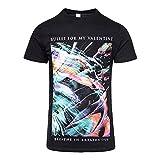 Bullet For My Valentine Herren T-Shirt Schwarz Schwarz Large Gr. XXL, Schwarz
