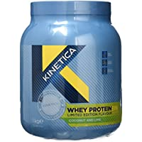 Kinetica Whey Protein Flavoured Powder, 1 kg, Coconut and Lime