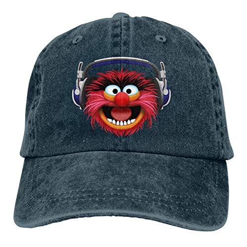 Muppets Animal Hat - Muppets Animal Head Dad Hat Adjustable