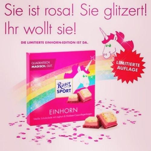 #Ritter Sport Einhorn Limited Edition#