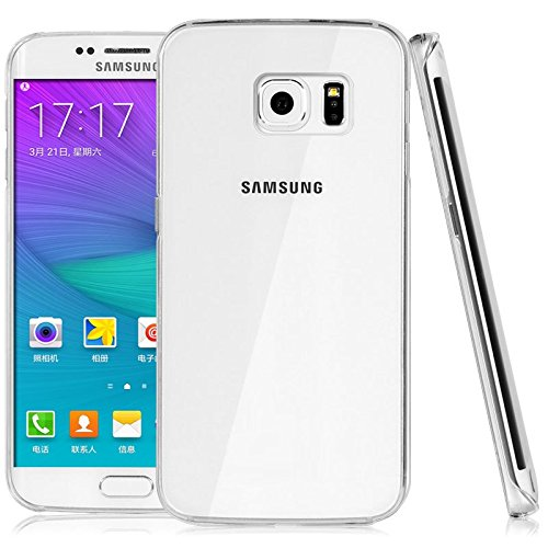 WOW Imagine(TM) Soft Jel Ultra Thin 0.3mm Full Protection Premium Clear TPU Back Case Cover for Samsung Galaxy S6 Edge (Transparent)