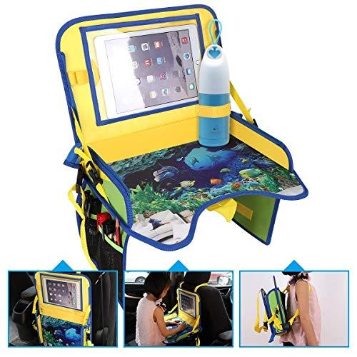 ECOOLBUY Multi Funktionen Kinder Reise Auto Sitz Tragbar Spiel Essen Tray Lagerung Buggy Pushchair...