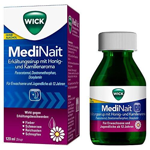WICK MediNait Erkältungss 120 ml -