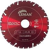 Leman 950230 Disque diamant brasé 230 x 45 x 2,4 x 2,0 mm pour coupe aciers