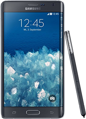 Samsung Galaxy Note Edge Smartphone, Display 5,6 Pollici Super-AMOLED, Processore 2,7GHz Quad-Core, Memoria 32 GB, Fotocamera 16 MP, Android 4.4, Nero [Germania]