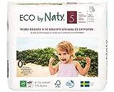 Naty by Nature Baby-care Mutandine di Apprendimento Ecologici, Taglia 5 (12 - 18 Kg) - Confezione da 4 x 20 Pezzi