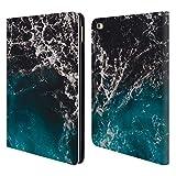 Head Case Designs Offizielle PLdesign Ombriertes Meer Wasser Brieftasche Handyhülle aus Leder für iPad Air 2 (2014)