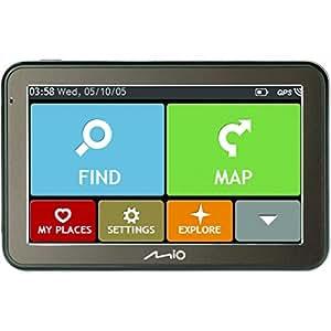 mio spirit 7670 lm navigationsger t mit 5 touchscreen. Black Bedroom Furniture Sets. Home Design Ideas