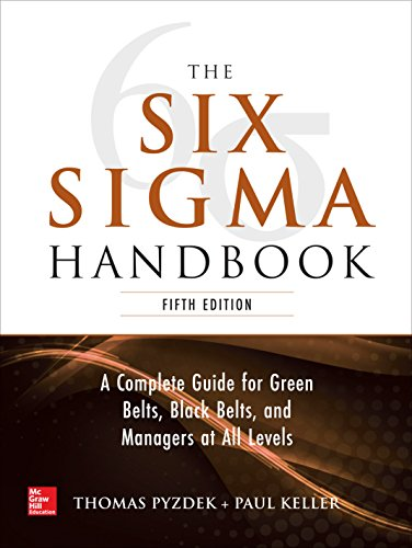 The Six Sigma Handbook, 5E por Thomas Pyzdek