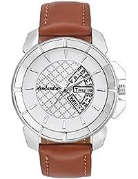 Armbandsur Analog white dial day & date display Watch-ABS0023MWB