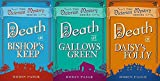 Robin Paige 3 Book set Victorian Mystery Series Books - Books 1, 2 & 3 - Death at Bishop's Keep, Death at Gallows Green & Death at Daisy's Folly