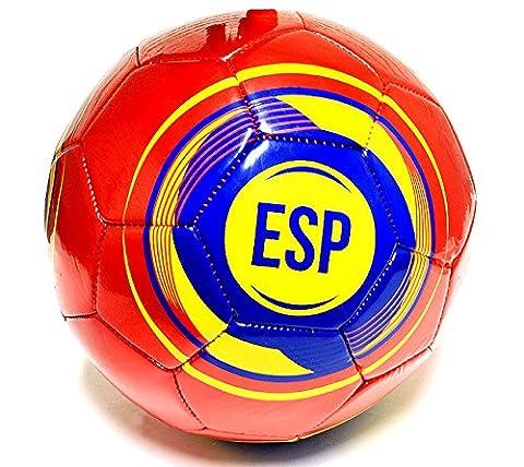 Espana Flagge Praxis Fußball Offizielle Größe