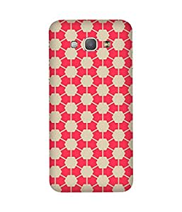 Pink Hexagon Samsung Galaxy A8 Case