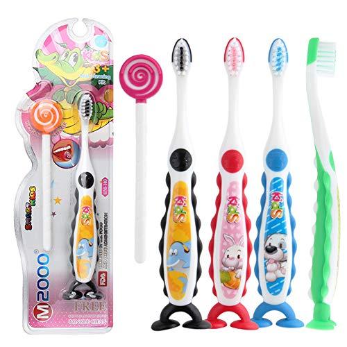 1 STÜCKE Kinder Zahnbürste Stand-Up Kinder Zahnbürste Extra Weiche Zahnbürsten Mundpflege Werkzeug (Zufällige Farbe) (Extra Weiche Zahnbürste Für Kinder)