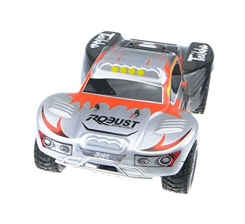 efaso WL Toys A969 - Short Course Truck Vortex - 2.4 GHz RC Auto mit Allradantrieb - Maßstab 1:18 (orange/Silber)*