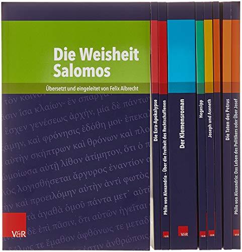 Kleine Bibliothek der antiken jüdischen und christlichen Literatur, Gesamtpaket: Gesamtpaket. Verkaufspaket - 9 Bde.kpl.z.Vorz.Prs.