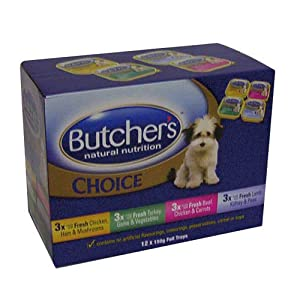 Butchers Dog Choice Multipack Dog Food 150G X36