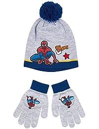 Spiderman Jungen Schal & Handschuh-Set mehrfarbig mehrfarbig