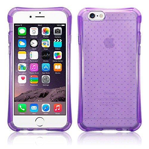 iPhone 6S Housse, Terrapin Air Cushion Étui Coque en Gel TPU pour iPhone 6 / 6S Coque - Violet Violet