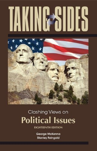 Taking Sides: Clashing Views on Political Issues by George McKenna (2012-02-29)
